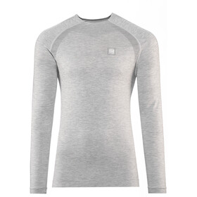 Compressport T-Shirt De Sport À Manches Longues, grey melange